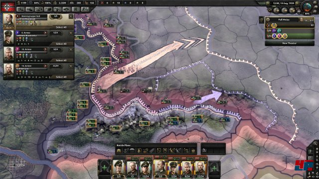 Screenshot - Hearts of Iron 4 (Linux)
