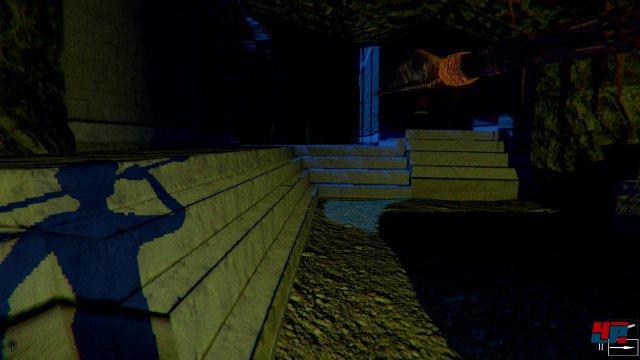 ...in ein düsteres Labyrinth voller Schatten geworfen.