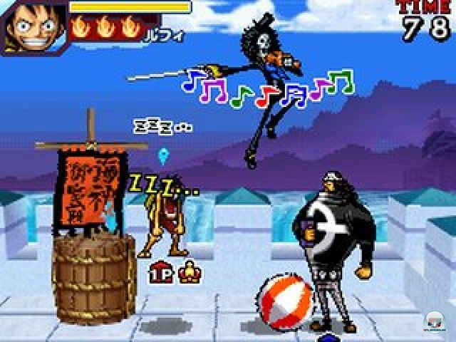Screenshot - One Piece: Gigant Battle (NDS) 2216477