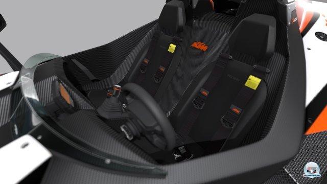 """Cockpits werden für die """"Vision-Cars"""" vorerst nicht modelliert."""