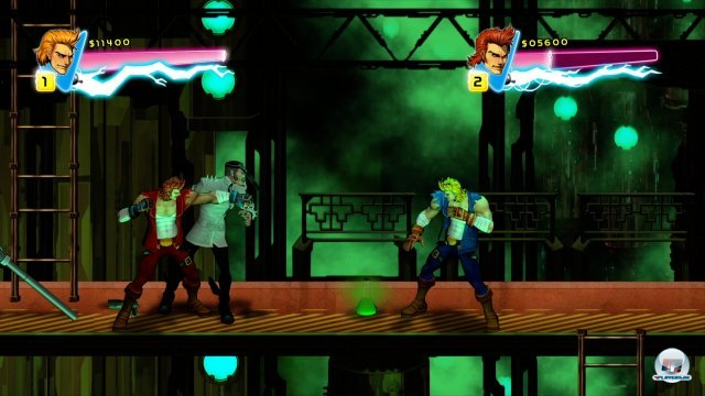 Screenshot - Double Dragon Neon (360) 92400277