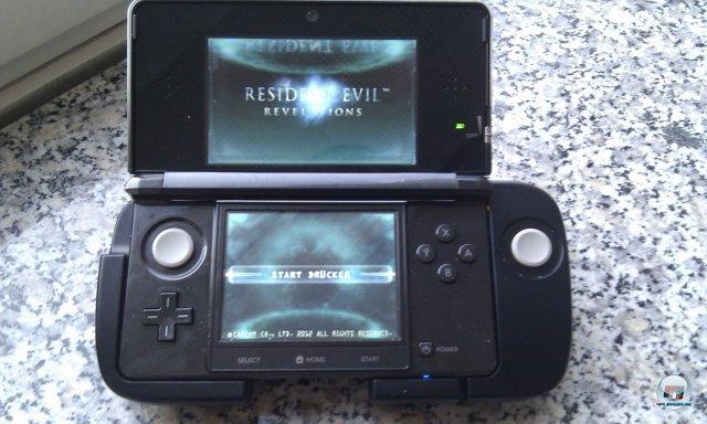 3DS in Verbindung mit dem Schiebepad Pro: Schön ist anders...