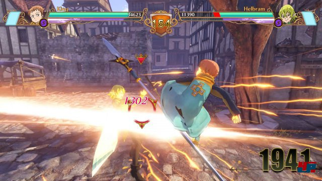 Screenshot - The Seven Deadly Sins: Knights of Britannia (PS4)