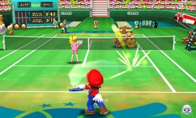Screenshot - Mario Tennis 3D (3DS) 2266532