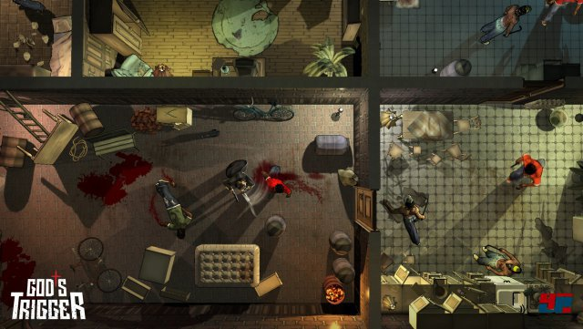 Screenshot - God's Trigger (PC)