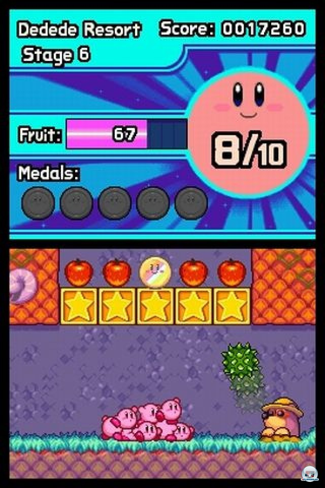 Screenshot - Kirby: Mass Attack (NDS) 2252067