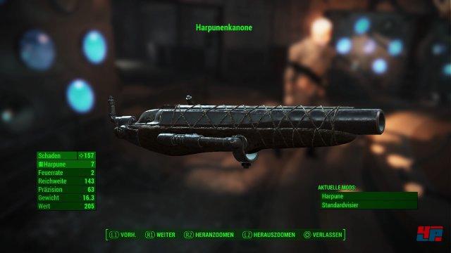 Zu den neuen Waffen gehören auch Harpunen.