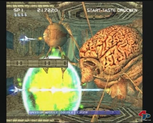 Das Leveldesign gehört zum besten, was das Genre der Arcade-Shooter gegenwärtig zu bieten hat! Zwei Spieler dürfen gleichzeitig ran.