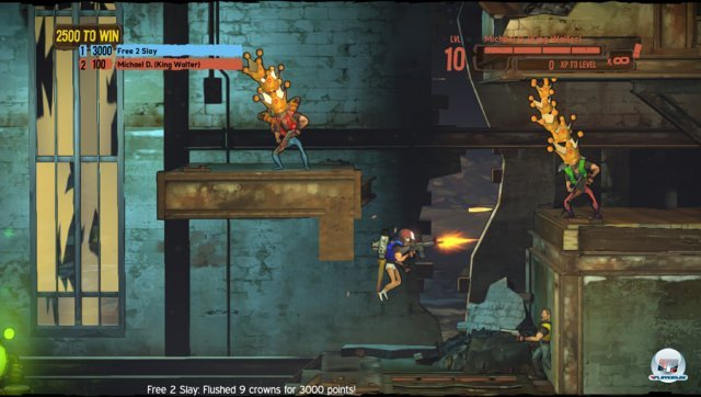 Screenshot - Shoot Many Robots: Arena Kings (PC)