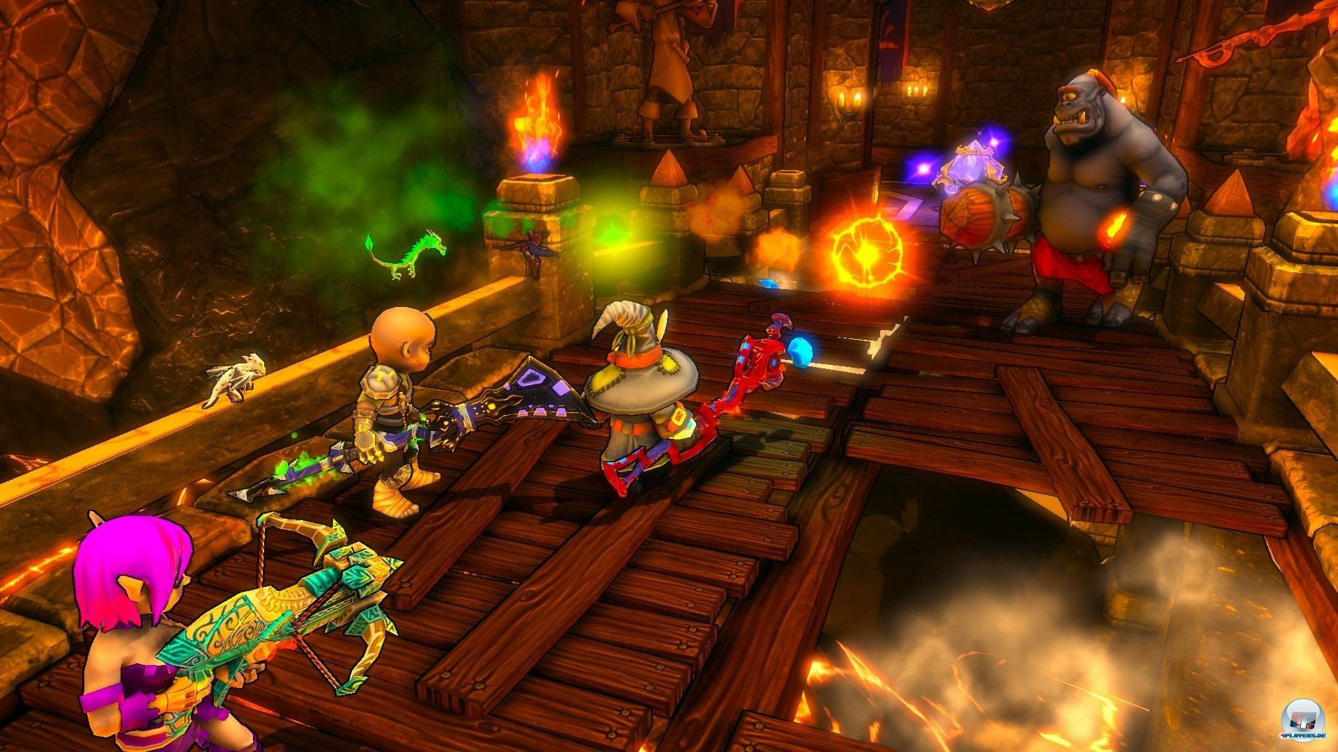 Dungeon Defenders bietet eine Fülle an Spielmodi, die sich allesamt auch kooperativ in Angriff nehmen lassen.