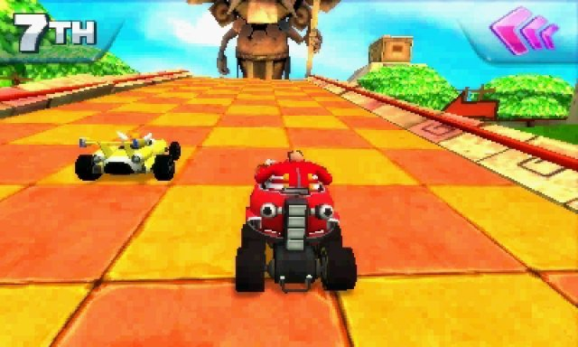 Screenshot - Sonic & All-Stars Racing: Transformed (3DS)