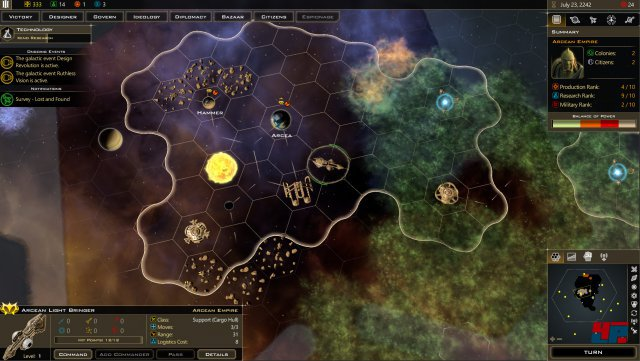 Screenshot - Galactic Civilizations 3: Crusade (PC)