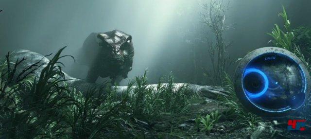 Spiele wie Robinson: The Journey zeigen mit ihrer ansprechenden Kulisse eindrucksvoll die Stärken des Displays.