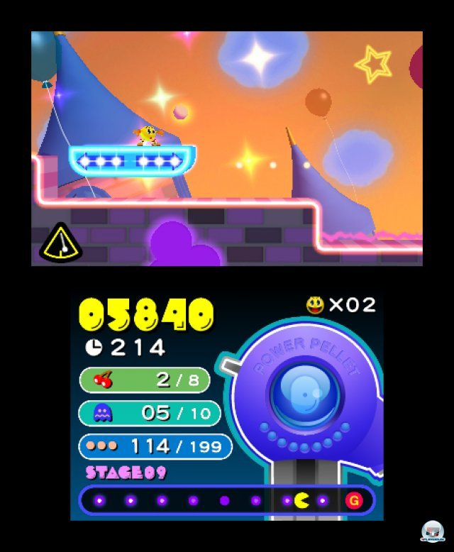 Screenshot - Pac-Man & Galaga Dimensions (3DS) 2257422