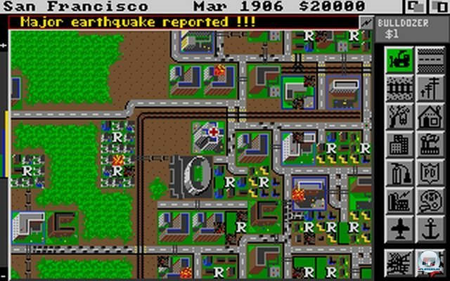 Screenshot - SimCity (Klassiker) (PC)