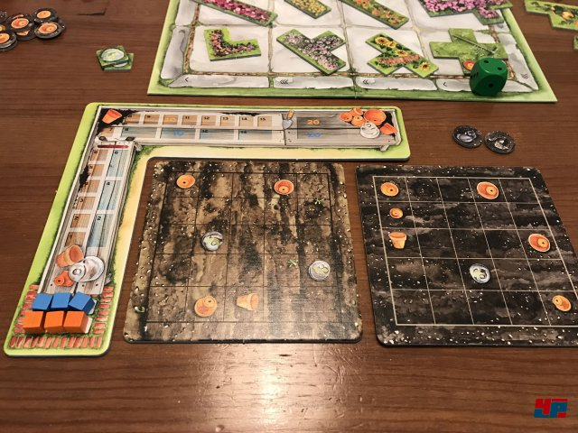 Cottage Garden ist für knapp 35 Euro komplett auf Deutsch bei Pegasus erschienen und für einen bis vier Spieler ausgelegt.