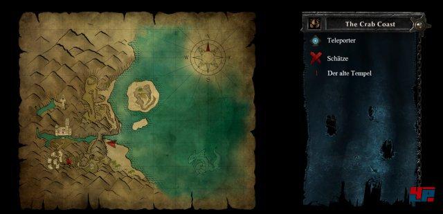 Karte: Krabbenküste