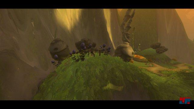 Der Kundschafter bekommt als Belohnung für anstrengende Aufstiege immer wieder schöne Panorama-Schwenks...