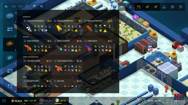 Screenshot - Megaquarium (PC)