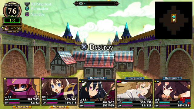 Screenshot - Labyrinth of Refrain: Coven of Dusk (PS4) 92574008