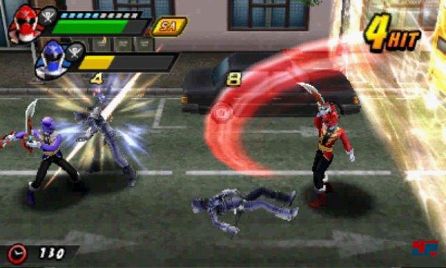 Screenshot - Power Rangers Super Megaforce (3DS)