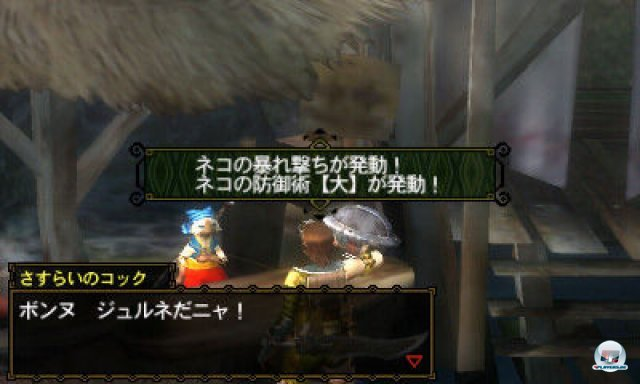 Screenshot - Monster Hunter 3G (3DS) 2273977