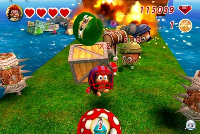 Screenshot - Crazy Hedgy (iPhone)