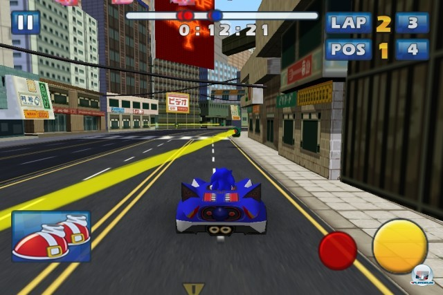 Screenshot - Sonic & Sega All-Stars Racing (iPhone) 2235193