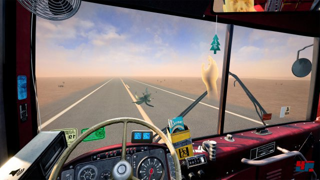 Screenshot - Desert Bus (HTCVive)
