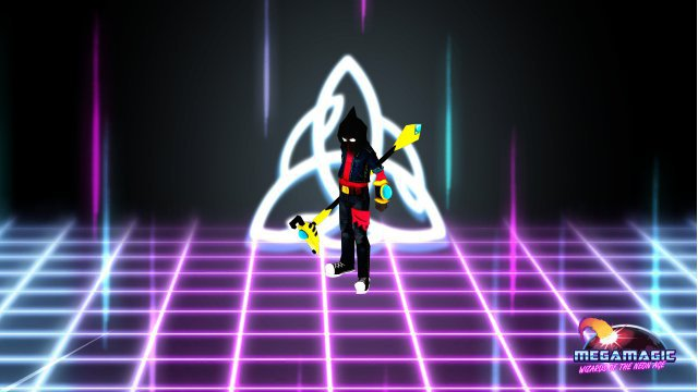 Screenshot - Megamagic: Wizards of the Neon Age (Linux)