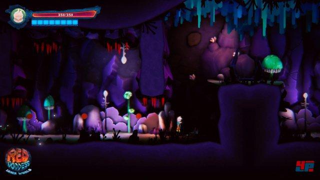 Screenshot - Red Goddess: Inner World (PlayStation4)
