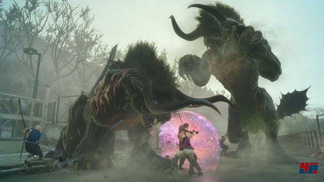 Screenshot - Final Fantasy 15: Gefährten (PS4)