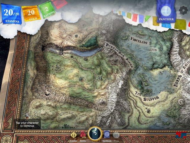 Screenshot - Sorcery! - Teil 3 (iPad)