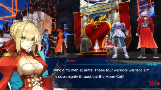 Screenshot - Fate/EXTELLA: The Umbral Star (Switch)