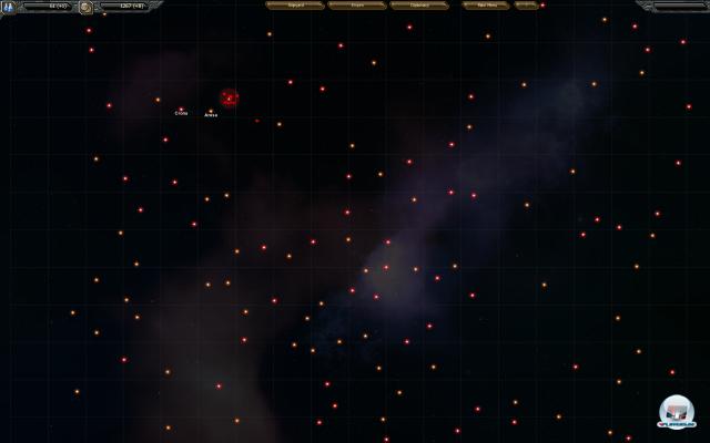 Der Weltraum - unendlich flache Scheibenweiten!