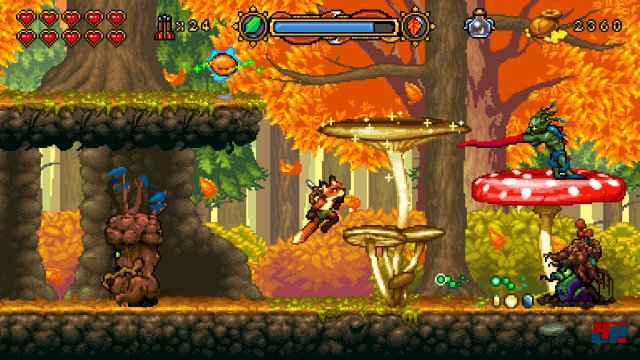 Screenshot - Fox n Forests (Linux)