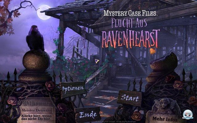 Screenshot - Mystery Case Files: Flucht aus Ravenhearst  (PC)