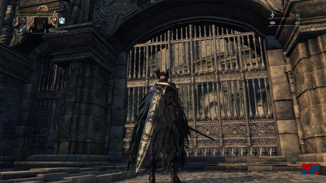 Früher offene Zugänge sind jetzt verschlossen. Screenshot - Bloodborne (PlayStation4) 92516813