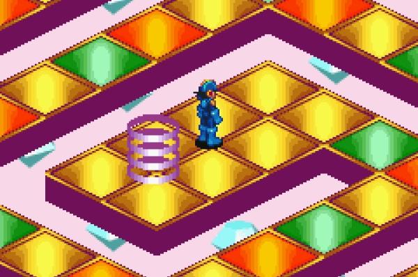 Spin-Offs gibt es fast �berall - in Fernsehserien, in Filmen, in B�chern, in Comics, mit gro�er Wahrscheinlichkeit auch in Waschmaschinen. Und selbstverst�ndlich auch in Videospielen: Die Games der �Mega Man Battle Network�-Reihe (Schon mal von �Rockman EXE� geh�rt? Ist dasselbe, nur japanisch), davon gibt es bislang sechs, l�sen sich spielerisch v�llig von ihren Vorg�ngern, auch wenn die Geschichten auf der klassischen Serie basieren - statt H�pfaction gibt es hier eine Mischung aus typischem Japano-Rollenspiel und Pok�mon-kompatiblem Sammelwahn. Sowie in den letzten Teilen unterschiedliche Editionen des jeweiligen Spiels, die sich untereinander verbinden lassen. 1734163