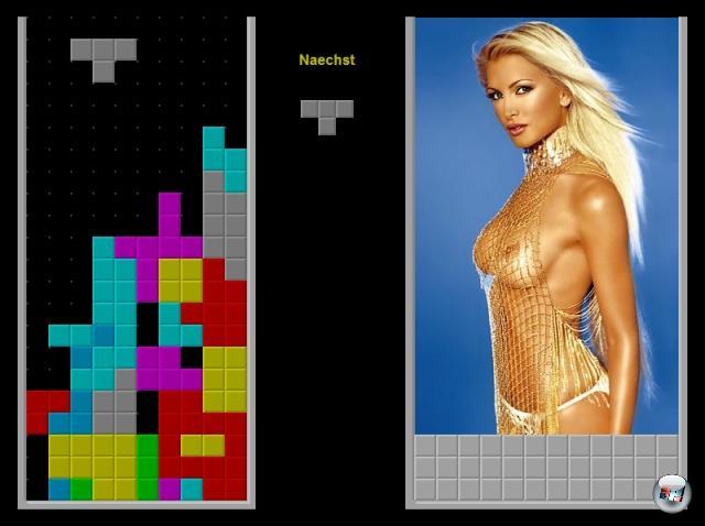 Am einfachsten waren Pixelmöpse immer da untergebracht, wo die Spieler sich schon auskannten - kein Wunder also, dass es von Spielprinzipien wie Tetris, Pipe Dream, Space Invaders oder Quix mehr entblößte Varianten als tatsächliche Nachfolger oder sonstige Ableger gibt. 1976888