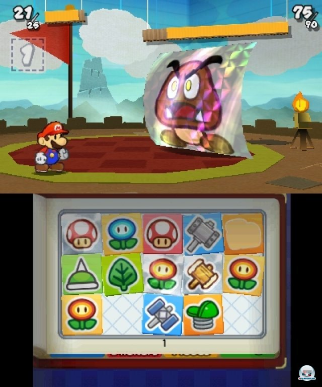 Screenshot - Paper Mario: Sticker Star (3DS) 2361182