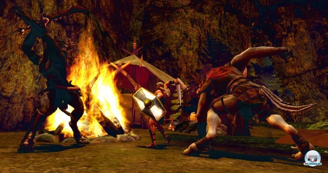 Screenshot - Gods & Heroes: Rome Rising (PC-CDROM)