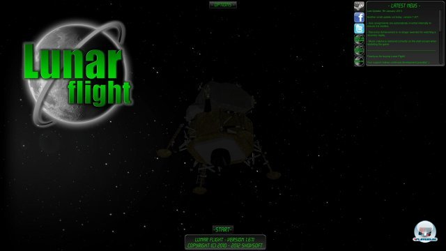 Screenshot - Lunar Flight  (PC)
