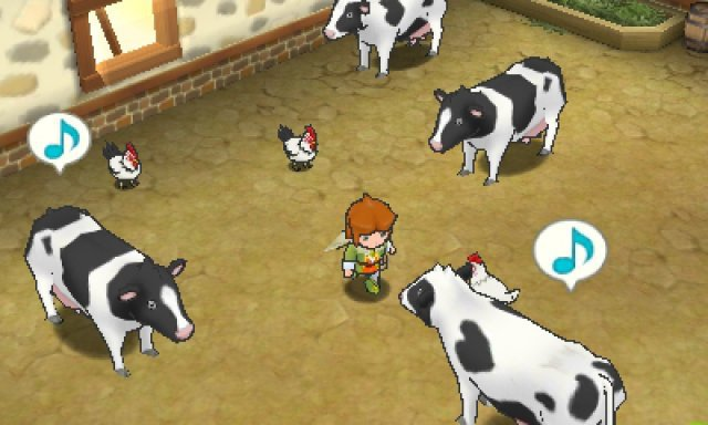 Screenshot - Return to PopoloCrois: A Story of Seasons Fairytale (3DS)
