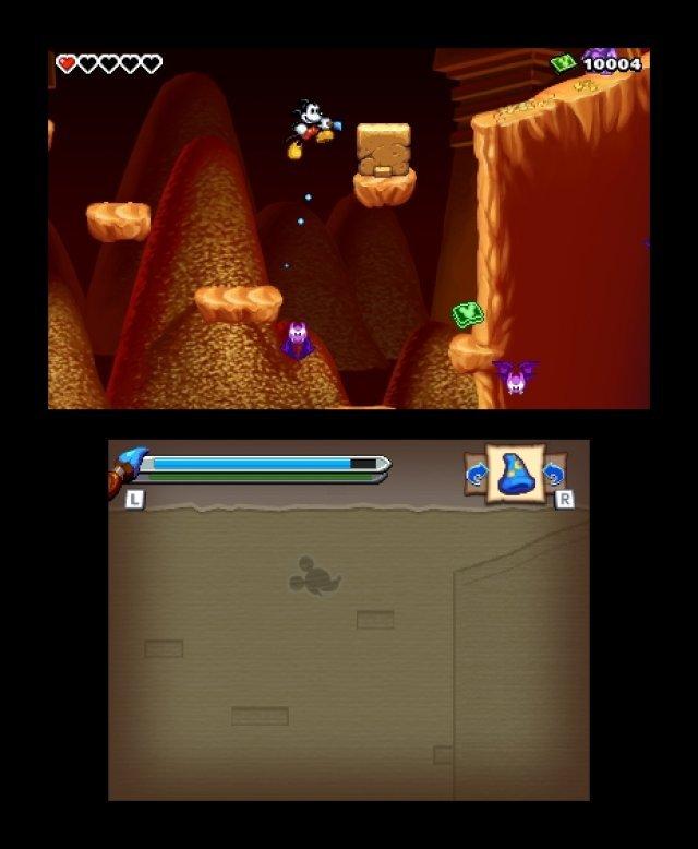 Screenshot - Micky Epic - Die Macht der Fantasie (3DS) 92406587