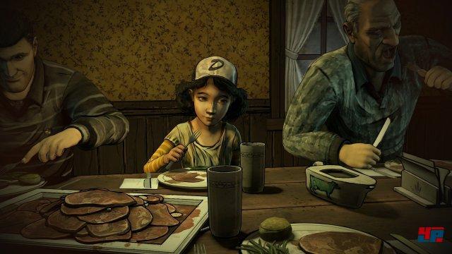 Screenshot - The Walking Dead (Switch)