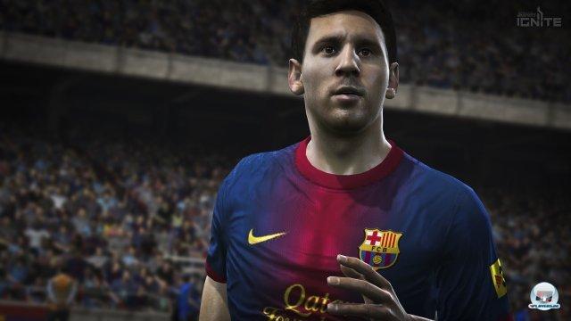 Ja, die Gesichter sehen etwas besser aus. Aber trotzdem bleibt abseits von Messi & Co noch viel Luft nach oben - selbst ein Manzukic sieht alles andere als realistisch aus.