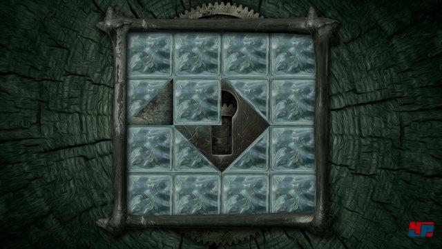 Ähnlich wie in Professor Layton sind die Schiebepuzzles eher lästig - es gibt aber auch fantasievollere Apparaturen, die entschlüsselt werden wollen.