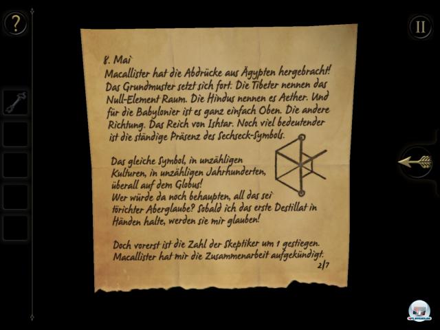 Screenshot - The Room (iPad)