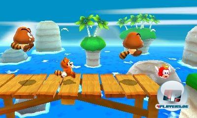 Von der Seite, aus der Vogelperspektive, über die Schulter geschaut oder aus der Iso-Ansicht - das neue Mario-Abenteuer spart nicht mit frischen Blickwinkeln.